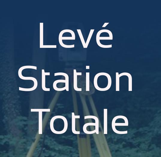 levé station-totale